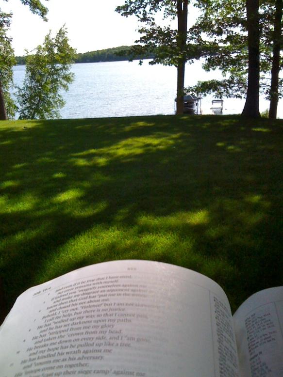 God's Biblical Revelation (Job) and General Revelation (Rabbit Lake)