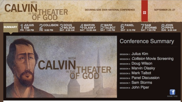 With Calvin In The Theatre Of God